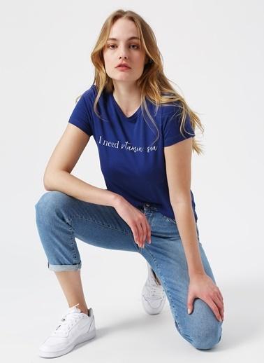 Vero Moda Tişört Mavi